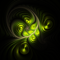 Alien - Fractal Art by CMWVisualArts