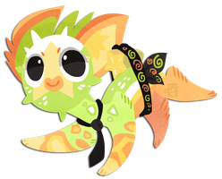 No13 Puffshimi Starfruit by griffsnuff