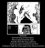 Kenpachi In Chapter 580 by Kamon72