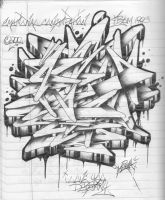 'Wildstyle Notebook' by StrAtAsfeAr93x