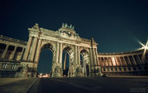 Cinquantenaire by Night by Elvazur