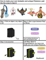 How to make your own Gen 6 Pokemon by ZenMalice