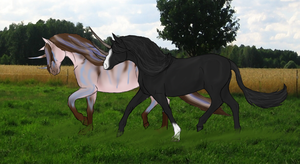 Adventus and Amadeus by ReaWolf