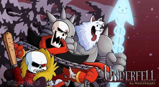 Underfell Fangame Wallpaper 1 by Whimsy-Floof