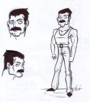 Freddy sketches by friend-of-totoro