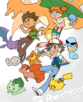 Pokemon by trudyfish