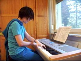 HS -:S: John: Improve at Haunting Piano Refrain by ChibiEdo