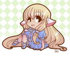 Chii from Chobits by jiggly