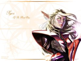 :Ryari Of The Blood Elves: by tubenose