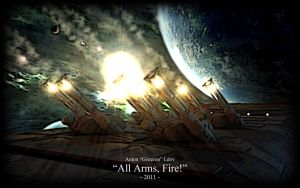 """All Arms, Fire"" by Gisteron"