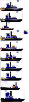 TUGS OCs: The Brendam Stacks by islandofsodorfilms