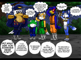 StarFox comic 1 by icha-icha