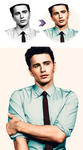 James Franco Colorization by deliquescedesign