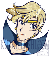Bust of Sailoruranus by kuroitenshi13