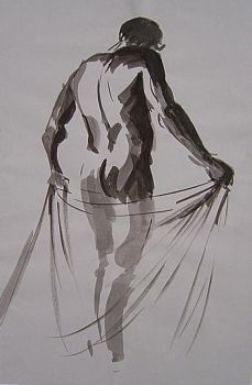 figurative drawings by ink by taherart