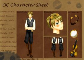 A. Wallace .:Character Sheet:. by Tennessee11741