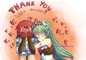 - RuFa 4: Thank you 1k Watchers - by Yukiko-Kun