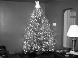 Black and White Christmas by LtNathanHale