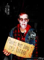 Zombie No.1 - Punk's Not Dead by sylver-shadow