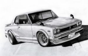 Nissan Skyline C10 1970 by 118shadow118