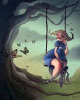 'Ugly' Alice in Wonderland by Aierz