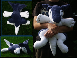 Sergal pillow plushie by SagandeTeam