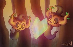 Phantump used LightScreen by PokeGirl5