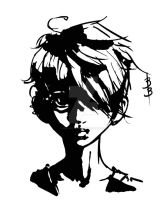 Boy with two earrings by DigitallyInking