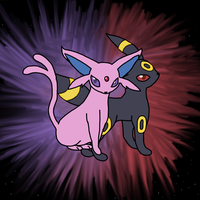 Umbreon and Espeon Request by xXDiamond-AceXx