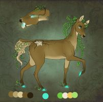 .: Contest entry -nature deer :. by Shien-Ra