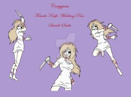 Creepypasta Female pose (knife): Suicide Sadie by darkangel6021
