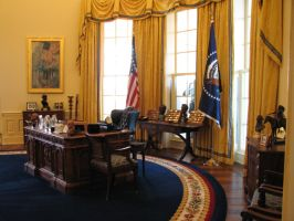 Free Oval Office Stock 3 by tursiart