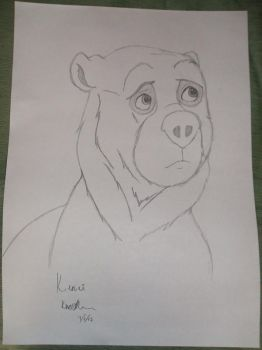 Kenai from Brother Bear by Cameron-Chase91