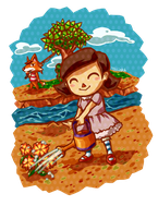 The Sweet Villager by tellie-tale