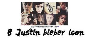 +8 Justin bieber icon by iohdrop2