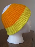 Candy Corn Hat by dhaskoi