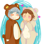 Commission: Chibi 'Y-your'e So Cute Partner' by Modomo