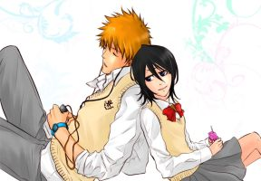 IchiRuki vvv by Touya101