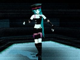 Miku Disappearance Model - ZIP by Bloodobsessed