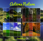 Actions Nature [17.18.19.20] by CoralineGFX