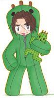 Cactuar Squall by fanchielover15