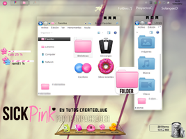 Tema para Iconpackager-SickPink- by TutosCreateBluue