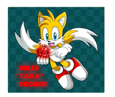 Chaos Emeralds: Tails by Kellkie