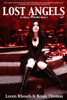 Book Cover - Lost Angels by MskyCarmen
