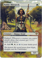 Altered card - Noble Hierarch by JohannesVIII