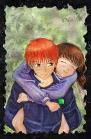 Kyo X Tohru --- Piggyback Ride by untitled-bin