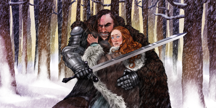 Wolf and the Hound by KyashiAnn