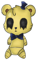 Chibi Golden Freddy by ireswe