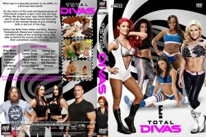 WWE Total Divas - Season 01 - Part 2 DVD Cover by Chirantha