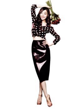 Tiffany ( Snsd ) png [render] by pikudesign